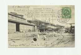MEXIQUE - SANTA ROSALIA -rue De L'usine De Fonderie  Animé Bon état écrite Devant - Mexique