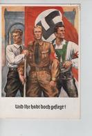 80PR/ Deutsches Reich PK 'un Ihr Habt Doch Gefiegt' C.München 1938 - Germany