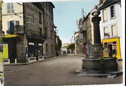 FELLETIN Route D'Aubusson Ed. Théojac 79-18, Cpsm GF - Felletin