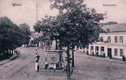 Allemagne, Holstein, Wedel Marktplatz, (2.8.1907) - Wedel