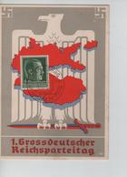 82PR/ Deutches Reich PK Grossdeutcher Reichsparteitag C.Nürnberg 1938 MINT - Weltkrieg 1939-45