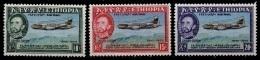 (094) Ethiopia / Ethiopie  Air Line / Planes / Avions / Flugzeuge / 1955   ** / Mnh  Michel 347-49 - Ethiopia