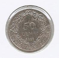 ALBERT I * 50 Cent 1911 Vlaams * F D C * Nr 8563 - 1909-1934: Albert I