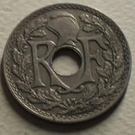 1930 - France - 25 CENTIMES, Lindauer, KM 867a, Gad 380 - France