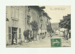 71 - CUISEAUX - Coin De Rue Saint Thomas Animé Bon état - Frankreich