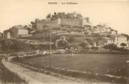 04 - MANE - Le Chateau En 1923 - France