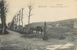 03 - BEZENET - Avenue De La Gare PO En 1916 - France