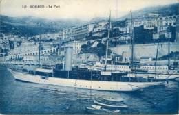 06 - MONACO - Le Port - Timbre Monegasque 40c - Harbor