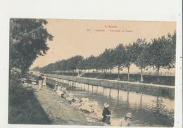11 BRAM VUE SUR LE CANAL CPA BON ETAT - Bram
