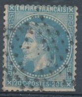 N°29 ETOILE EVIDEE - 1863-1870 Napoleon III With Laurels
