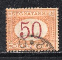 Rox 1890 Regno D'Italia  Segnatasse 50c  Usato - 1878-00 Umberto I