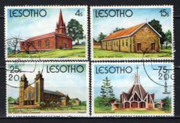 LESOTHO - 1980 - CHIESE CRISTIANE - USATI - Lesotho (1966-...)