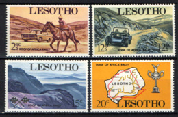 LESOTHO - 1969 - Roof Of Africa Auto Rally, Sept. 19-20 - MNH - Lesotho (1966-...)