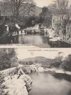 2 CPA  83 SOLLIES-PONT CHUTE DES CEIROUS ET SUR LE GAPEAU - Sollies Pont