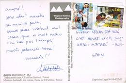 34989. Postal Aerea UYUNI (Bolivia) 2007. Belleza Boliviana. Festival De Potosi - Bolivia