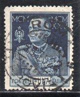 Rox 1924 Regno D'Italia Giubileo Del Re 1 Lira Usato - Oblitérés