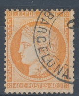 N°38 OBLITERATION ETRANGERE - 1870 Siege Of Paris