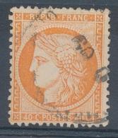 N°38 OBLITERATION ETRANGERE - 1870 Siège De Paris