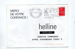 Lettre Flamme Mourenx Tour De France - Poststempel (Briefe)