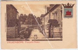VALKENBURG FRANSCHE MOLEN / WAPENSCHILD / 1914 Uitg. Ludwig Meister Vorm Reisinger C° Köln - Valkenburg
