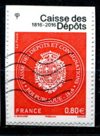 France 2016 - YT 5045 (o) Sur Fragment - Usati