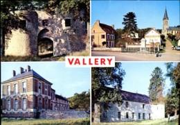 89 - Souvenir De Vallery : Multivues - Francia