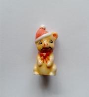 Fève Souris Bonnet De Père Noel - Animaux