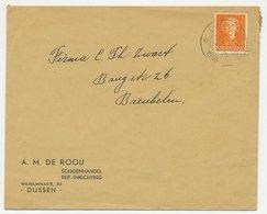 Firma Envelop Dussen 1950 - Schoenhandel - 1891-1948 (Wilhelmine)