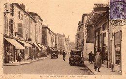 PONT A MOUSSON La Rue Victor Hugo - Pont A Mousson