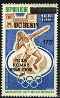 Benin Bénin Overprint Surchargé 2008 - JO Munich 1972 Poids Komar Médaille D'or - Mi 1434 CV 60 Euro - MNH ** - Sommer 1972: München