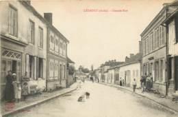 10 - LESMONT - Lot De 2 Cartes Animées - Frankreich