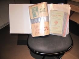 CHARLEROI - MANUFACTURE DE TABACS TIROU-DIRICK- Environ 250 Documents De L'usine De 1897 à 1966- Rapports,bilans,tarifs - Documents Historiques