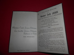 MILITARIA WWII JAVAUX Emile / Nelissen Soldat Au 5 Chasseurs Ardennais Né à REDU + Combat VYLE THAROUL ,enterré SEILLES - Obituary Notices
