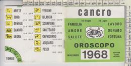 Oroscopo Cancro 1968 Libretto Waldner - Livres, BD, Revues