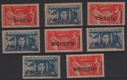 AGRI-3 - ROUMANIE N° 886/93 Neufs** Thème Agriculture - 1918-1948 Ferdinand I., Charles II & Michel