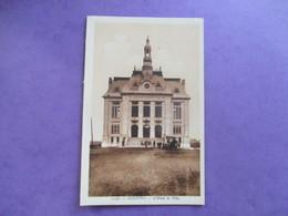 CPA 59 AULNOYE HOTEL DE VILLE ANIMEE - Aulnoye