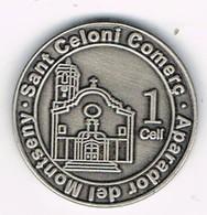 Moneda Local SAN CELONI (Barcelona) Comercio, Aparador Del Montseny, 1 Celí - Profesionales/De Sociedad