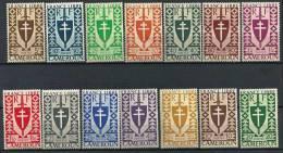"""Cameroun YT 249 à 262 """" Série De Londres """"  1941 Neuf** - Nuevos"""