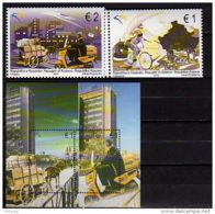 2013 Kosovo - Europa CEPT - Postal Transport - Full Set Of 2v And MS - MNH**  MiNr. 247 - 248 + B 25 - Kosovo