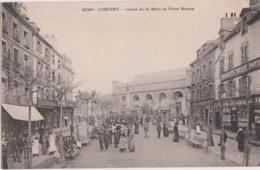 Bv - Cpa LORIENT - Cours De La Bôve Et Place Bisson, - Lorient