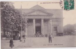 Bv - Cpa LORIENT - Eglise St Louis - Lorient