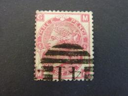 GRANDE BRETAGNE, Année 1867-69, YT N° 33 Planche 6 Oblitéré  (cote 45 EUR) - 1840-1901 (Victoria)