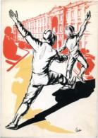 SPORT SCHERMA  Caserta 1972  Finale Nazionale XV Criterium Studentesco - Fechten