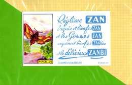 BUVARD & Blotting Paper  : Reglisse ZAN  PORCELLUS - Cake & Candy