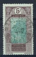 French Guinea, 5c., Ford At Kitim, 1922, VFU Scarce Postmark From Mali City - Usati