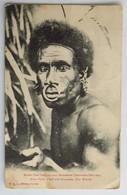 C. P. A. : Vanuatu : Nouvelles Hébrides, Grand Chef Indigène Avec Décorations, Timbre En 1917 - Vanuatu