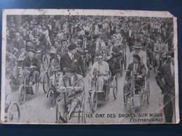 """Carte Postale Clémenceau """"Ils Ont Des Droits Sur Nous"""" - Patriottiche"""