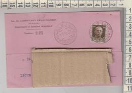 STORIA POSTALE - RIVAROLO LIGURE ( GENOVA) LUBRIFICANTI OLI E. FOLTZER - VIAGGIATA PER GALATONE LECCE 1933 - Storia Postale