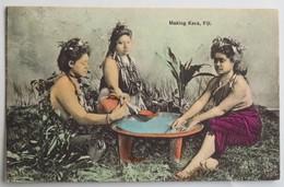 C. P. A. Coloré : FIDJI, FIJI : Making Kava - Fiji