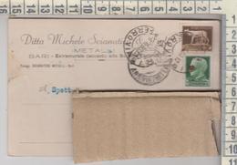 STORIA POSTALE - BARI DITTA M. SCIANATICO & C. - VIAGGIATA PER LECCE 1930 - Storia Postale